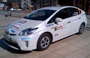 Toyota Canada's championship Prius PHV.