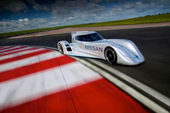 Nissan ZEOD RC will utilize the same lithium battery technology as used in the Nissan LEAF.