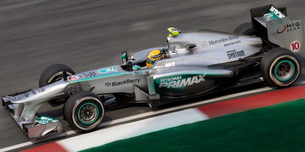 Lewis Hamilton 2013 Malaysia Grand Prix