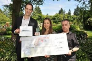 Saskia Vaisey of Port Moody, B.C., National Award winner of  the 2013 Toyota Earth Day Scholarship.