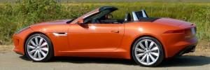 Jaguar F-Type Side View