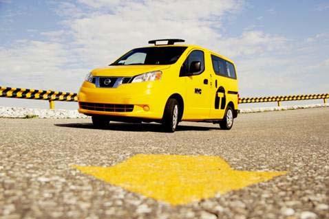 Nissan Taxi of Tomorrow