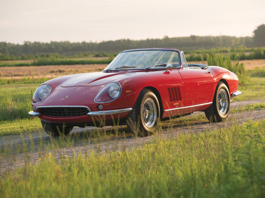1967 Ferrari 275 GTB NART Spider.