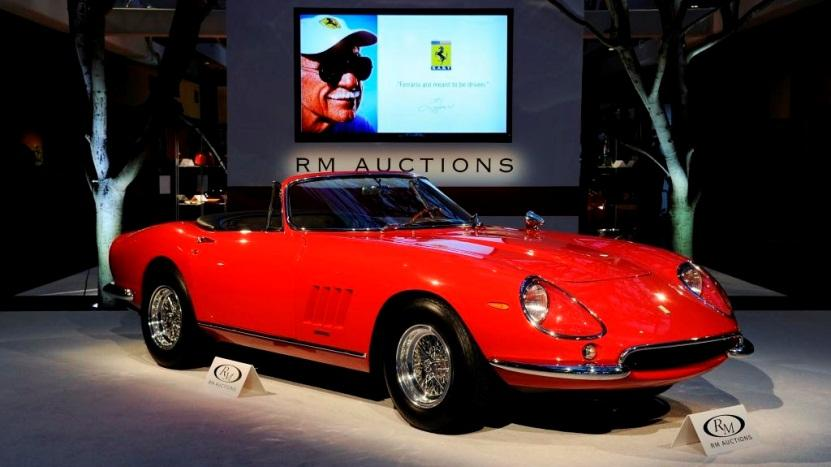 1967 Ferrari 275 GTB/4*S N.A.R.T. Spider (Photo Credit Eugene Robertson © 2013 Courtesy of RM Auctions)