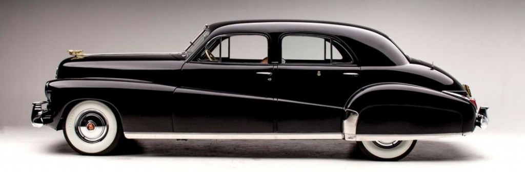 """1941 Cadillac Custom Limousine """"The Duchess"""" to be offered at RM Auctions and Sotheby's Art of the Automobile sale, November 21, 2013."""