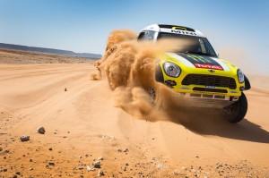 MINI All4 Racing at 2014 Dakar Rally.