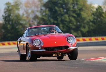 1967 Ferrari 275 GTB/4 formerly owned by actor Steve McQueen.