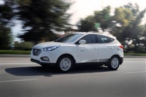 2015 Tucson Fuel Cell vehicle.