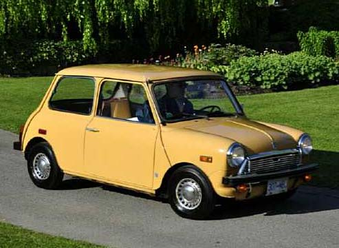 One of the many classic Minis that can be seen each year the Vancouver ABFM in VanDusen Garden. Photo: courtesy Cam Hutchins.
