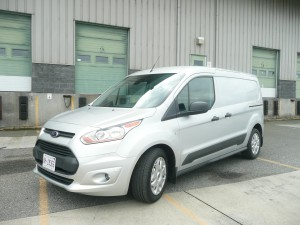 Ford's all-new 2014 compact Transit Connect commercial van has good looks and car-like handling.