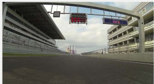 Sochi Autodrom in Krasnodar Krai, Russia, where the inaugural Russian Grand Prix will take place in October 2014.