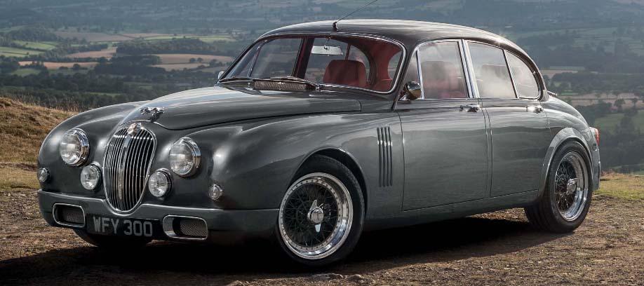 Jaguar Mk 2 by Callum. Photo: courtesy CMC.