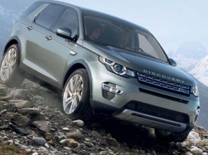 New Land Rover Discovery Sport.