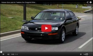 Fans urge Acker to restore the 1996 Nissan Maxima.