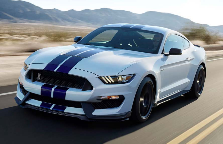 Shelby GT350 Mustang.