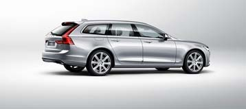 The all-new Volvo V90 will be available in Canada in the first quarter of 2017.