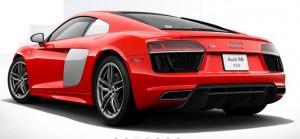 Audi R8 Coupe, 2016 World Performance Car. Basic price, $184,000.