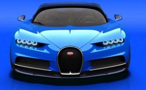 2016 Bugatti Chiron--16-cylinder engine with 2-stage turbocharging and 1,500 horsepower.