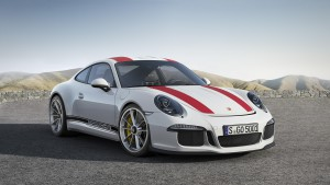 Porsche introduces new limited edition 911 R variant with 500-horsepower naturally aspirated engine and manual transmission.