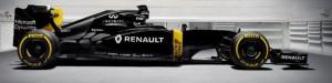 Renault Sport team car for 2016 F1 season.