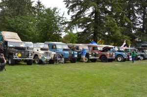 Land Rovers at 2016 ABFM