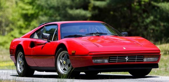 Pebble Beach Auction: 1989 Ferrari 328 GTB, estimate $125,000-$150,000.