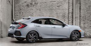 All-new 2017 Honda Civic Hatchback.