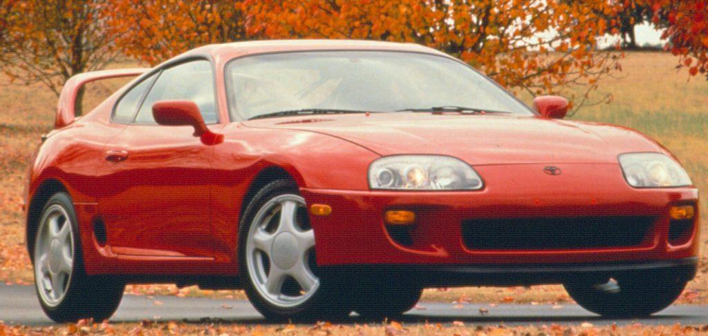 1994 Toyota Supra Turbo Coupe.