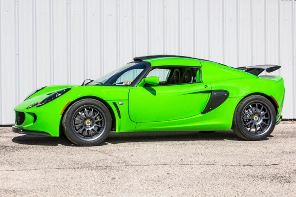 2009 Lotus Exige S260 Sports Coupe, which sold for $90,400 at Dan Kruse 2017 Memorial Day Weekend Auction.