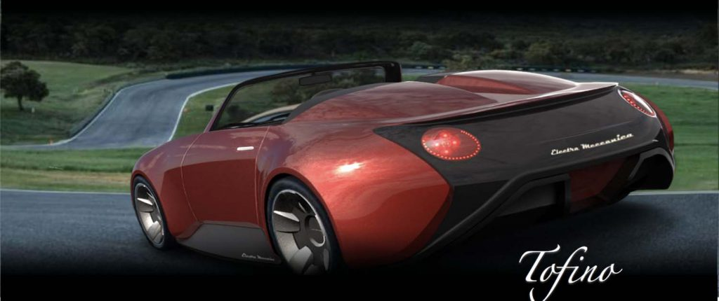 Tofino electric sport coupe from Electra Meccanica.