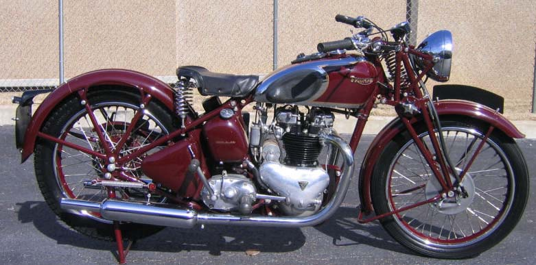1938 Triumph Speed Twin.