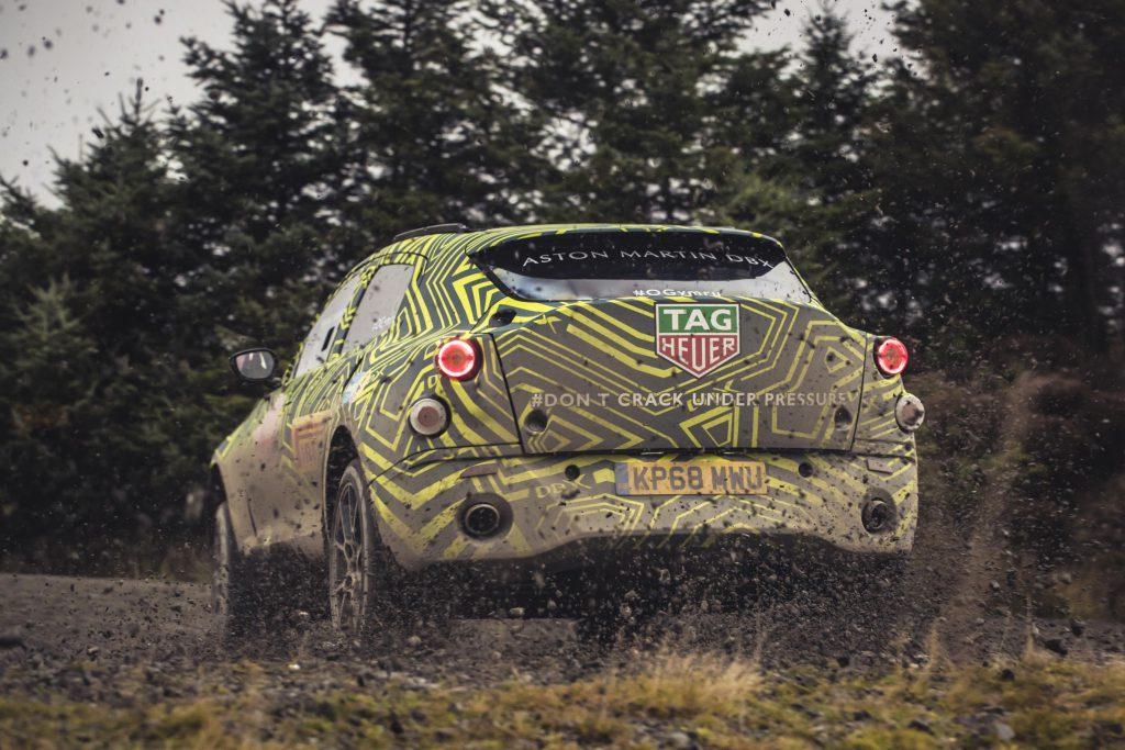 Aston Martin DBX Back
