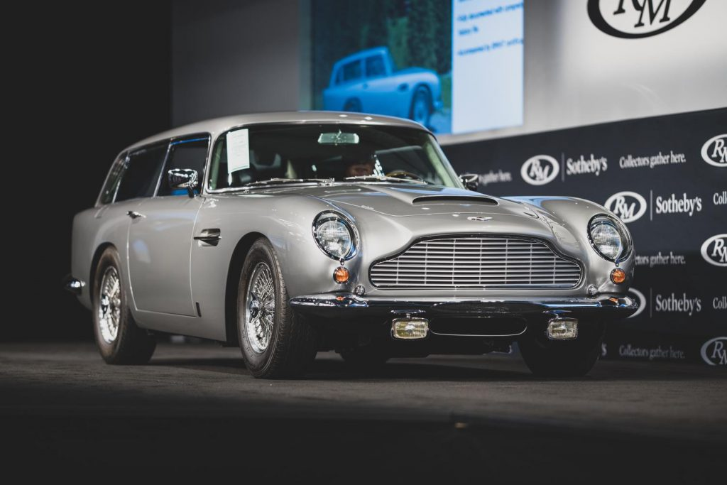 Aston Martin DB5 Shooting Brake.
