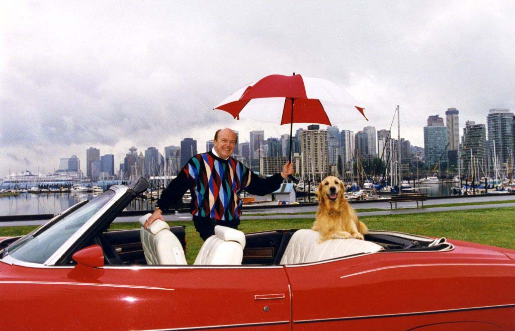 Jimmy Pattison joins the 2020 Vancouver International Auto Show as Honorary Chair and Procession Grand Marshal