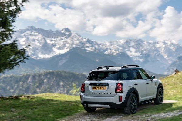 2021 MINI Countryman, featuring a newly updated design, along with enhancements in technology and equipment offerings.