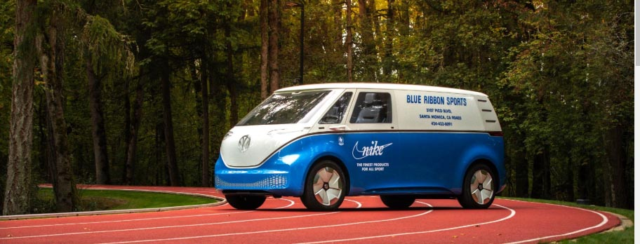 Nike's Volkswagen ID. BUZZ CARGO. Photo courtesy Volkswagen.