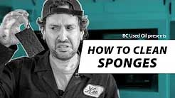 How to Clean Sponges