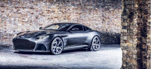 Aston Martin DBS Superleggera 007 Edition.