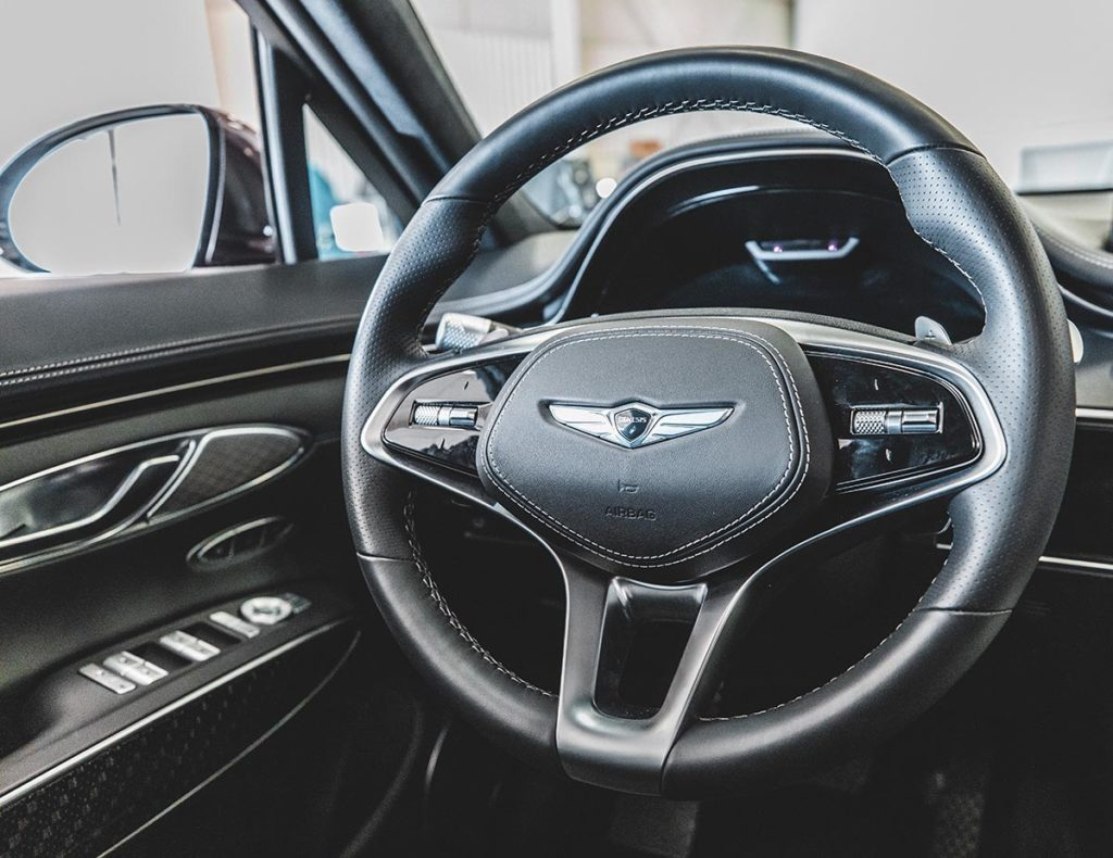 JUN JULY 2021 Genesis Steering Wheel