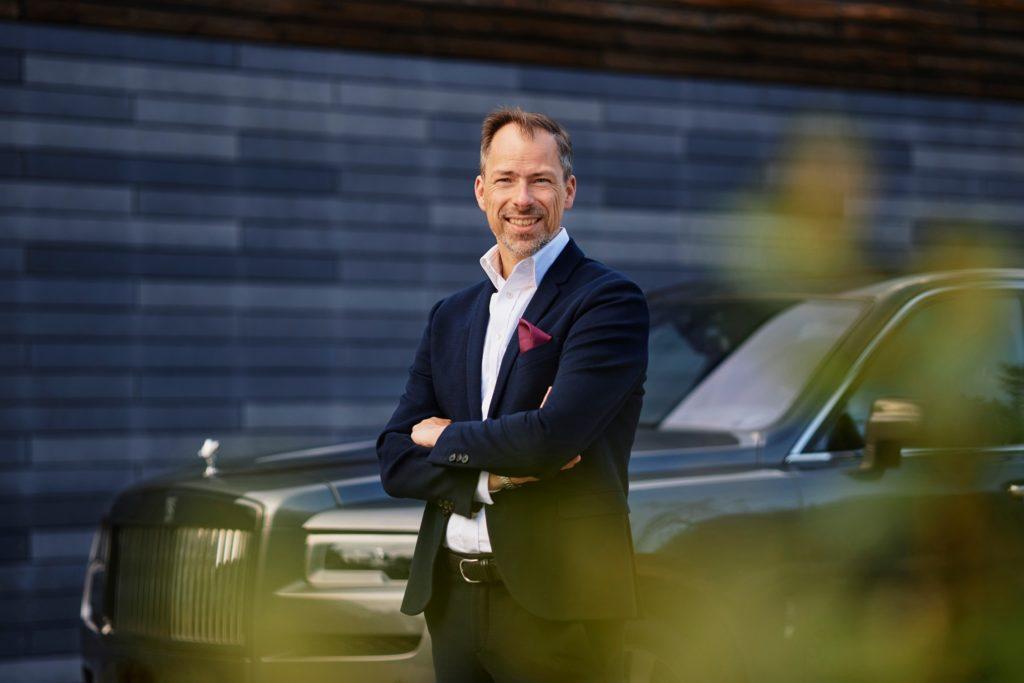 Anders Warming, new Rolls-Royce Director of Design, effective July 1, 2021.