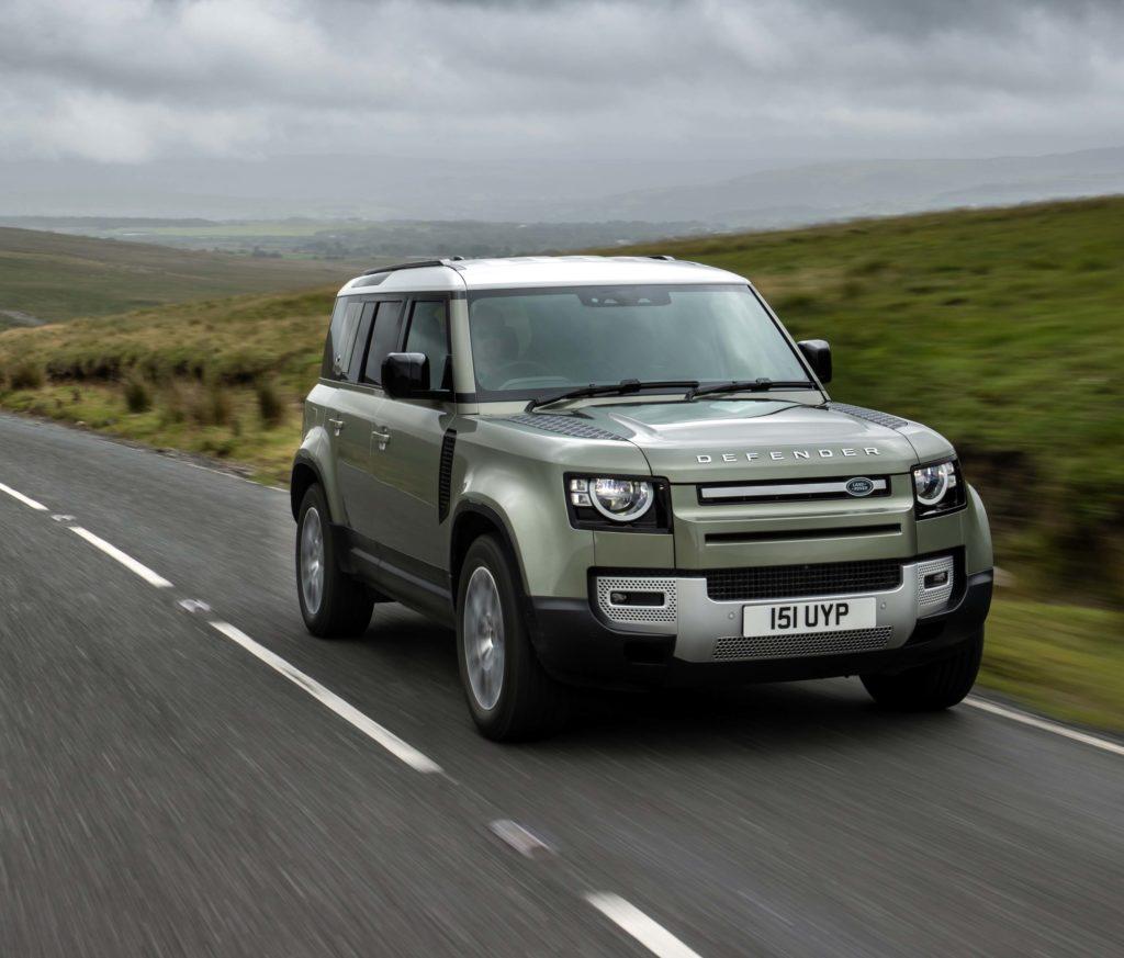 Land Rover Defender (European Model). Photo courtesy Jaguar/Land Rover; Newspress USA.