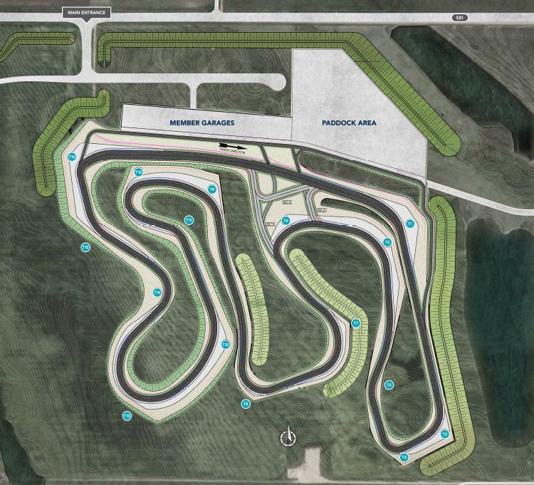 RMM Track Map